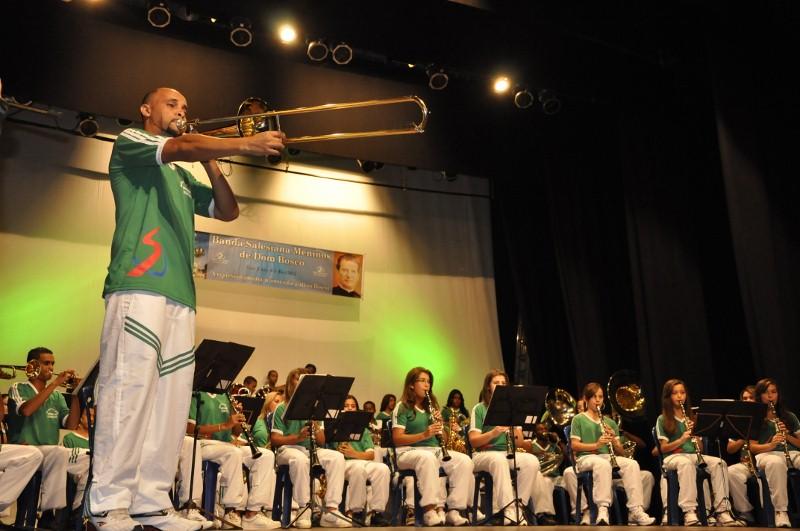 concerto banda salesiana meninos de dom bosco 30ª semana da musica ...
