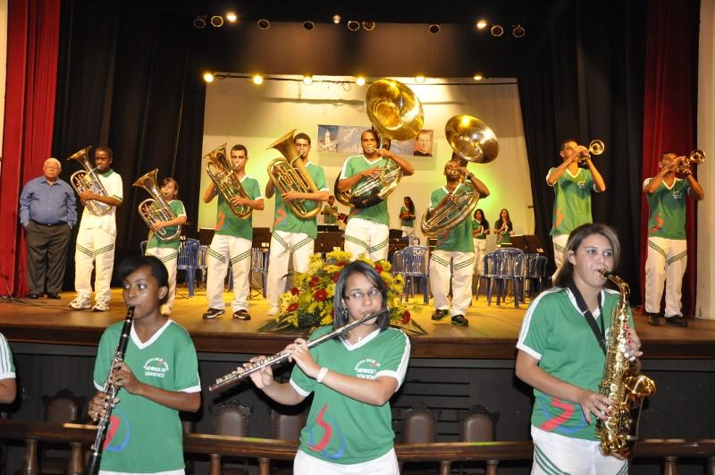 concerto banda salesiana meninos de dom bosco 30ª semana da música ...